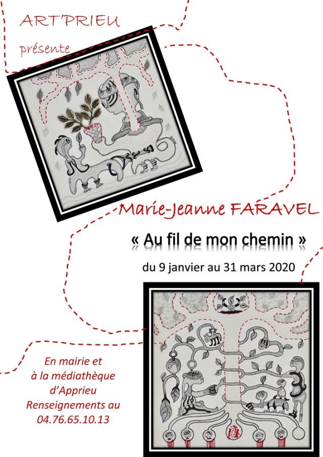 1000 PIXELS affiche Marie Jeanne Faravel janvier2020