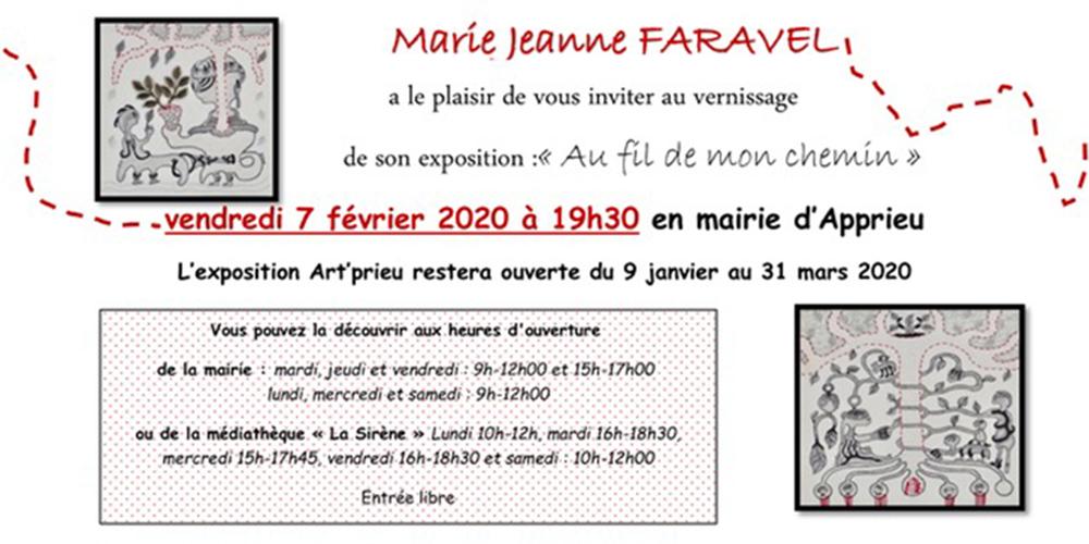 1000 PIXELS expo APPRIEU invitation JPEG janvier2020